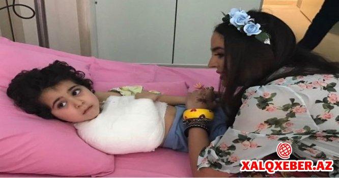 Leyla Əliyeva Uşaq klinikasında – FOTO