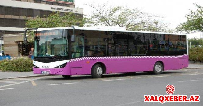 Bakıda avtobuslar 2 gün pulsuz işləyəcək