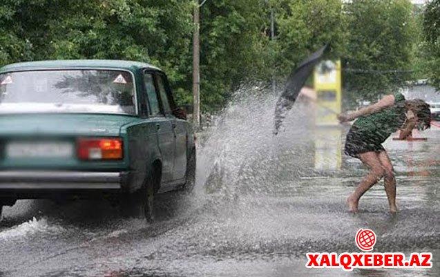 Sabah 12 dərəcə isti və yağış gözlənilir