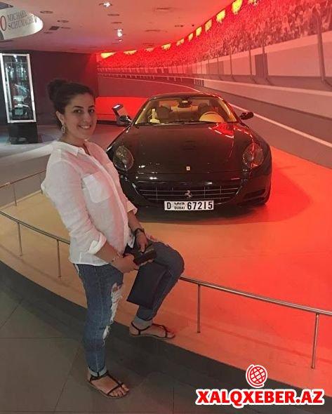 """Dadaşeva bacıları """"Ferrari"""" alarkən saxlanıldı - FOTOLAR"""