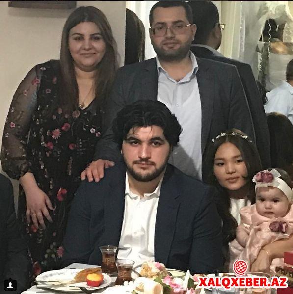Aygün Səmədzadənin oğlunun nişanından VİDEO-FOTOLAR