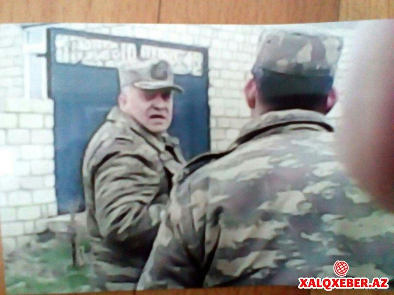 Zakir Həsənovun zabiti vətəndaşa divan tutur-Faktlar