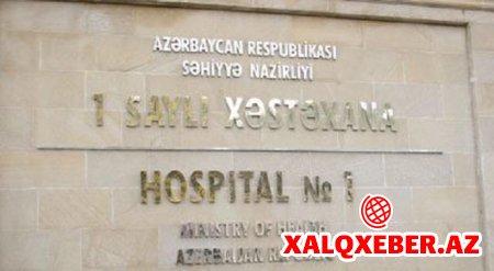 1 saylı kliniki şəhər xəstəxanasında rüşvət baş alıb gedir... - İDDİA