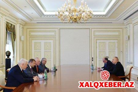 Prezident İlham Əliyev ATƏT-in Minsk qrupu həmsədrlərini qəbul edib