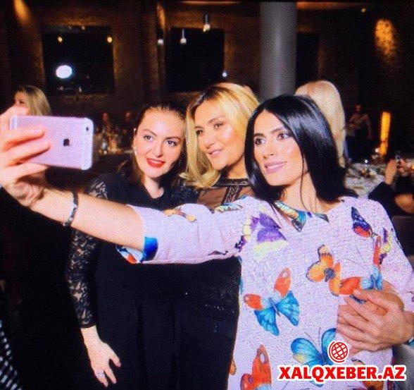 Leyla Əliyeva Zülfiyyənin ad günündə - Fotolar