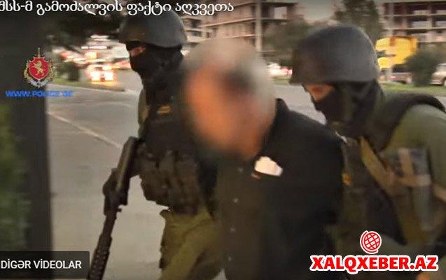 Tiflisdə azərbaycanlı kriminal avtoritet saxlanıldı - Xüsusi əməliyyat+Video