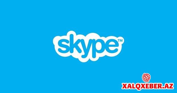 """Fərdi kompüterlər üçün """"Skype"""" versiyası yenilənib"""