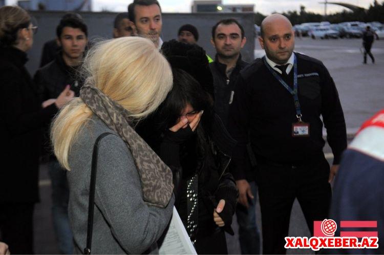Rafiq Hüseynovun cənazəsi Bakıya gətirildi - Fotolar
