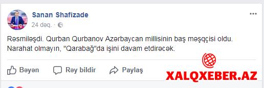 """İdman jurnalistləri üsyan edir: """"Qurban Qurbanovu tələyə saldılar"""""""