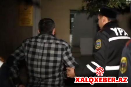 Bakıda AMEA-nın işçisi sərxoş halda SAXLANILDI
