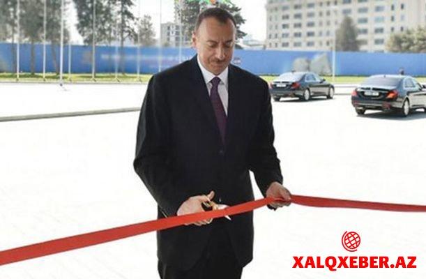 Əziz Əliyev adına park açılıb - Gəncədə