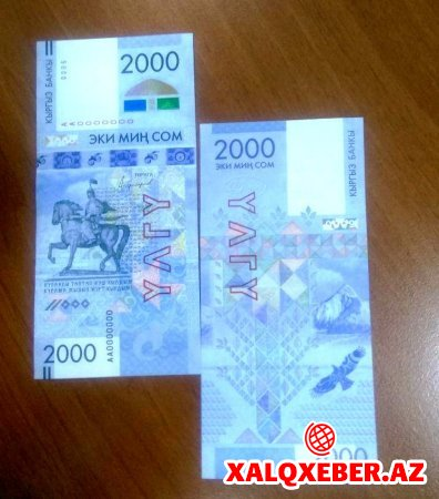 Qırğızıstan yeni pul vahidi ilə ilkə imza atdı - FOTO