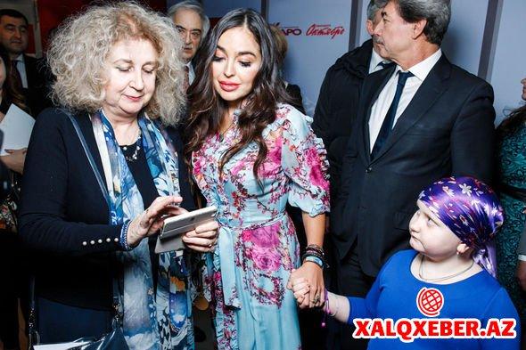 Leyla Əliyeva Moskvada film təqdimatında – FOTO