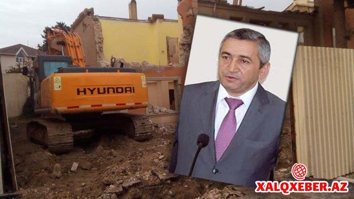 """İcra başçısı binanı söküb, camaatı çıxarıb, """"Bakıxanov residence""""ə peşkəş etdi – Reportaj"""