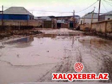 Sonuncu dəfə sovetlərdə asfalt görən Zabrat qəsəbəsi - VİDEO