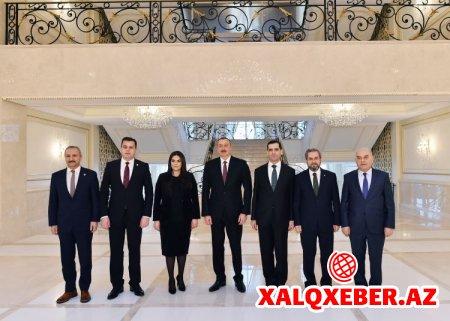 """""""Azərbaycanla Türkiyə daim bir-birini dəstəkləyir"""" - Prezident İlham Əliyev"""