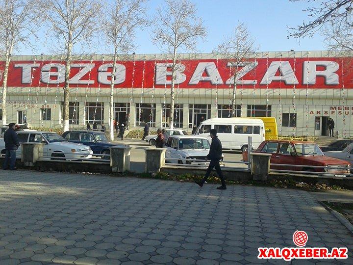 Göyçayın icra başçısının adı qalmaqalda - Bazar məsələsi...