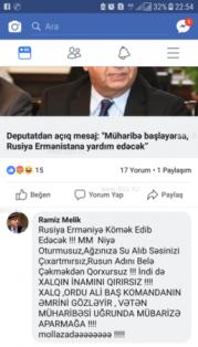 """Xalq artistindən Milli Məclisə sərt ittihamlar: - """"Nə oturmusunuz, qorxursunuz?!"""""""
