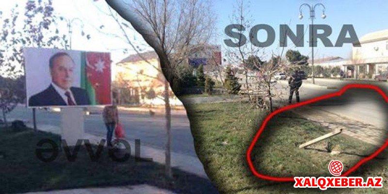 """""""Birlik-7"""" MTK yaşıllıqları məhv edir"""