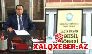 Laçın rayon Təhsil Şöbəsinin rəhbəri Nicat Həsənov korrupsiyada ittiham edilir — İTTİHAM/FOTOFAKT