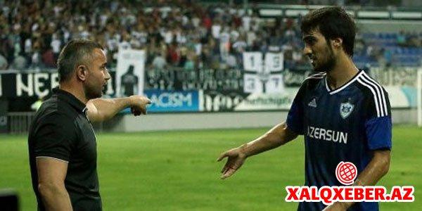 Qurban Qurbanov daha bir futbolçunu cəzalandırdı