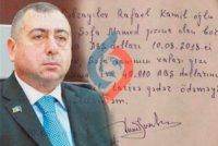 Rafael Cəbrayılov prokurorluğa çağırılıb - keçmiş deputata məsləhət görülüb ki....