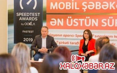"""""""Bakcell"""" Azərbaycanda ən sürətli mobil internet təqdim edir"""