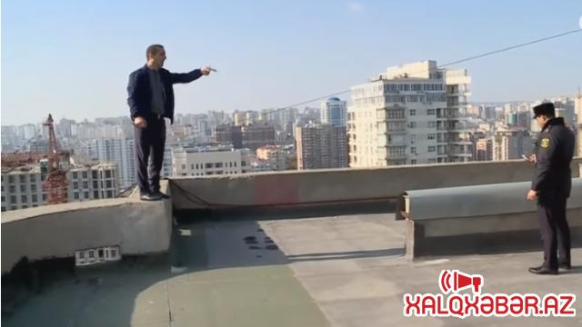 """Nəsimidə intihara cəhd - """"Aslan"""" MTK vətəndaşı aldadıb! (VİDEO)"""