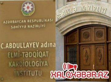 Kardiologiya İnstitutunda Səbzəliyeva tandemi