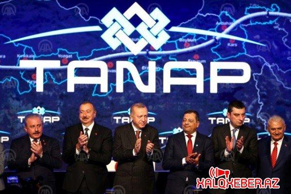 İlham Əliyev TANAP-ın Avropaya bağlanması mərasimində -