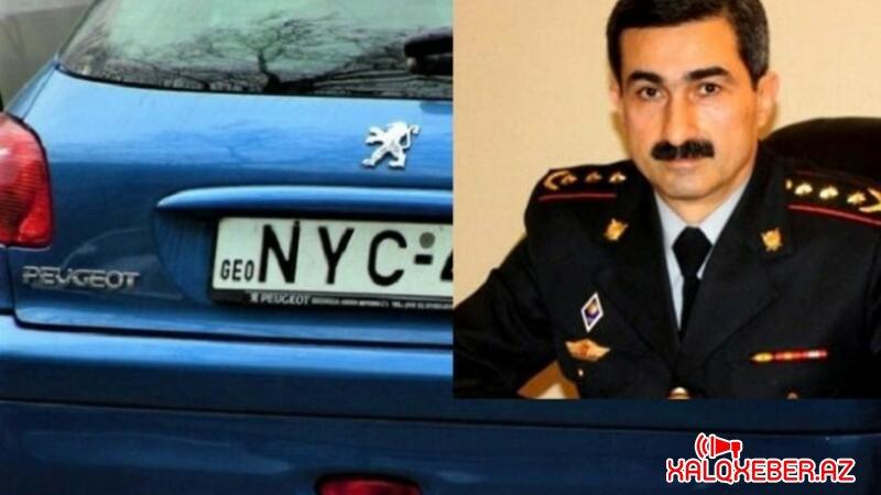Yol polisindən Gürcüstan nömrəli avtomobillərlə bağlı VACİB AÇIQLAMA