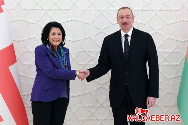 İlham Əliyev zəmanəmizin ən uğurlu liderlərindən biridir - Zurabişvili
