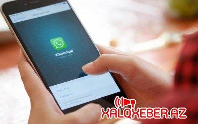WhatsApp-dan yeni il rekordu