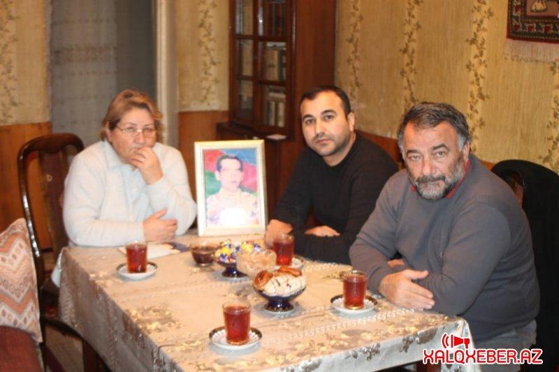 46 saylı Şirvan Seçki Dairəsindən deputatlığa namizəd Peyman Sadıqov bir neçə şəhid ailəsini evlərində ziyarət edib