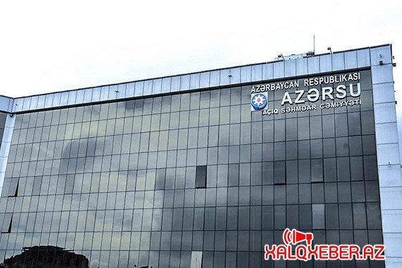 """""""Azərsu"""" ASC-də tender: qurum 435 minlik lyuk alır"""