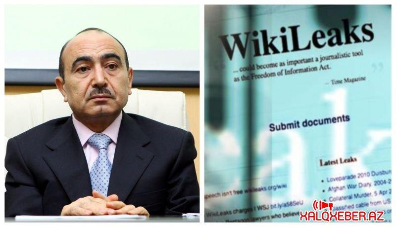 """Əli Həsənovun """"WikiLeaks"""" yazışmaları üzə çıxdı - FOTO"""