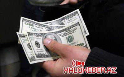Dolların rəsmi məzənnəsi dəyişmədi