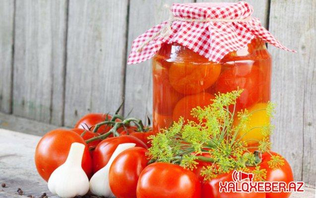 Ailənin bütün üzvləri pomidordan zəhərləndi