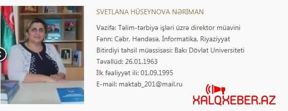 Təhsil Naziri cənab Ceyhun Bayramova müraciət