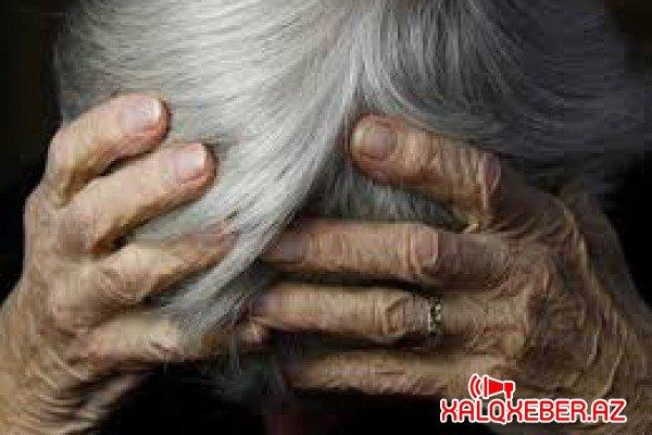 Azərbaycanda OLAY: Oğul 85 yaşlı anasını döydü