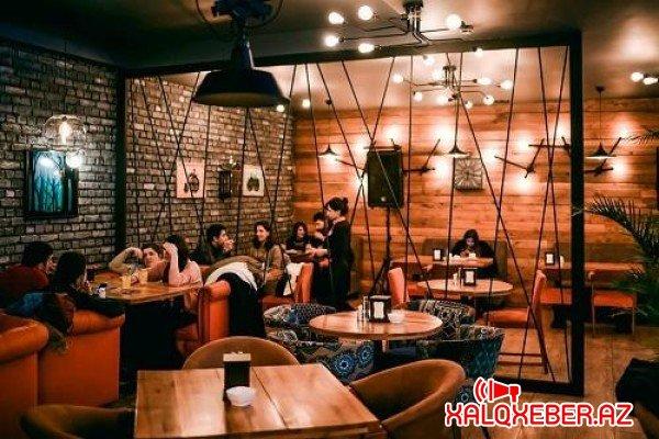 Kafe və restoranlar yenə bağlanır - iki həftəlik...