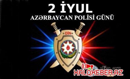2 İyul - Polisi günü balacaların diqqətindən kənarda qalmadı - VİDEO