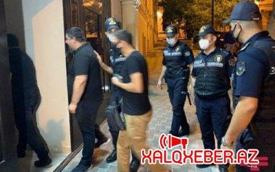 Bakıda məşhur restoranda polis əməliyyatı - Qaçan müştəri belə tutuldu - Video