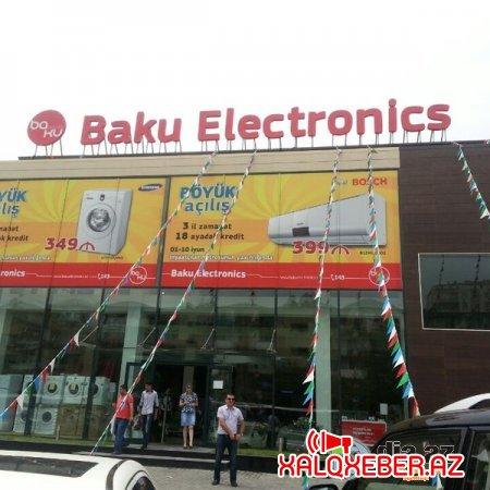 """""""Baku Electronics""""in kampaniya fırıldağı - GİLEY"""