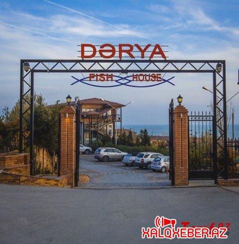 """""""Dərya Fish House"""" restoranında müştəriləri belə narazı salırlar - ŞİKAYƏT"""