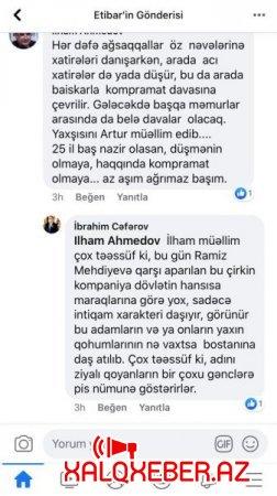 """ADAU-nun rektorundan Ramiz Mehdiyevə AÇIQ DƏSTƏK - """"Hücumlar intiqam xarakteri daşıyır..."""""""