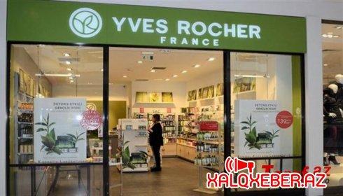 """""""Yves Rocher"""" mağazasında müştərilərin bonuslarını belə """"yedilər""""- İDDİA/FOTO"""