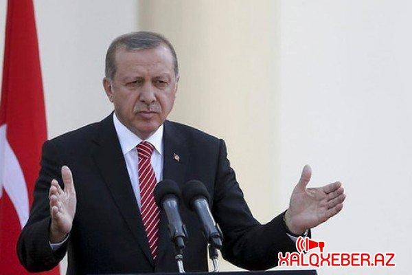 """""""Belə sözləri işlətmək ədəbsizlikdir"""" - Ərdoğan"""