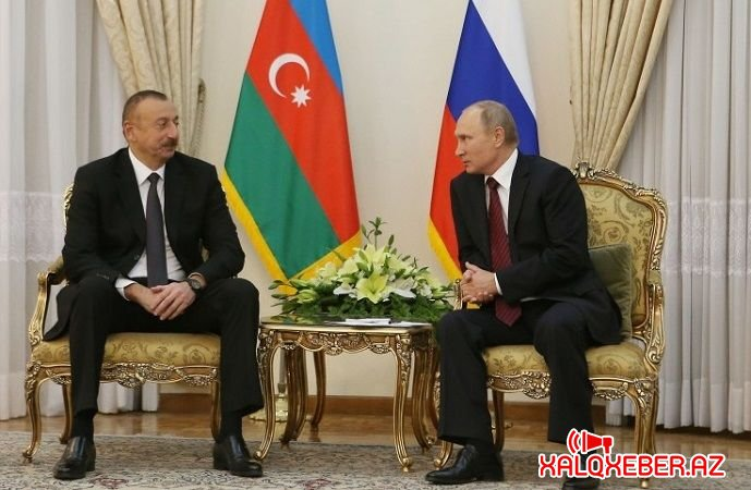 Azərbaycan və Rusiya prezidentləri arasında telefon danışığı oldu
