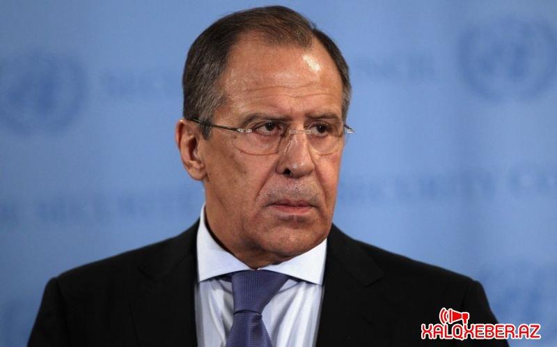"""Lavrov: """"Qarabağda atəşin dayandırılması barədə razılaşmalara tam əməl olunmur"""""""
